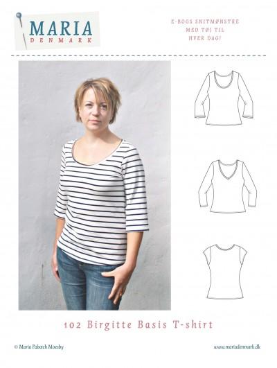 symønster t-shirt birgitte Mariadenmark