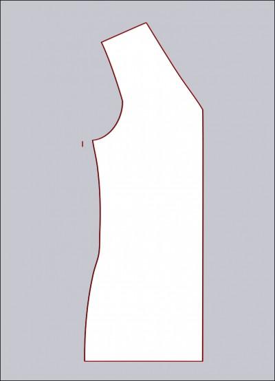 tilretning til stor barm, step 2, MariaDenmark - syning for alle