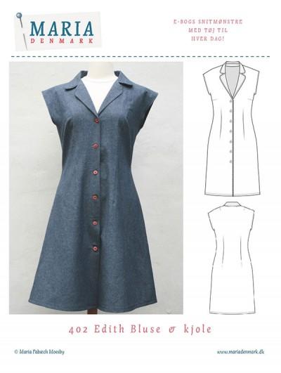 MariaDenmark Edith kjole mønster