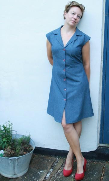 Edith kjole mønster symønster