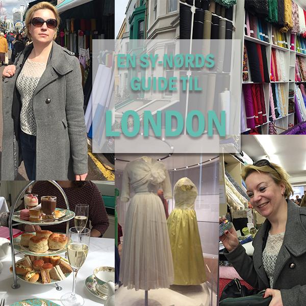 En sy-nørds guide til London. Del 1: Udstillinger og museer